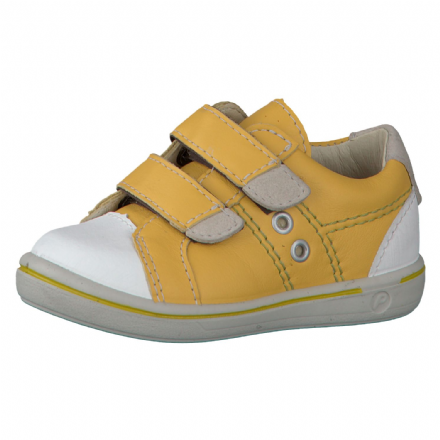 Ricosta NIPY Leather Velcro Shoes (Sun Yellow)